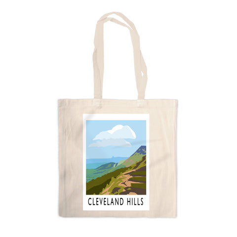 The Cleveland Hills, Yorkshire Canvas Tote Bag