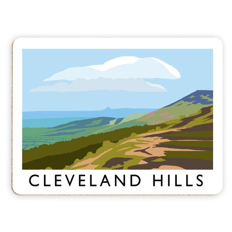 The Cleveland Hills, Yorkshire Placemat
