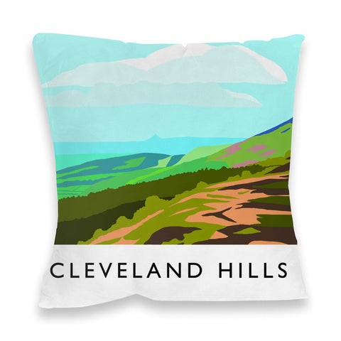 The Cleveland Hills, Yorkshire Fibre Filled Cushion