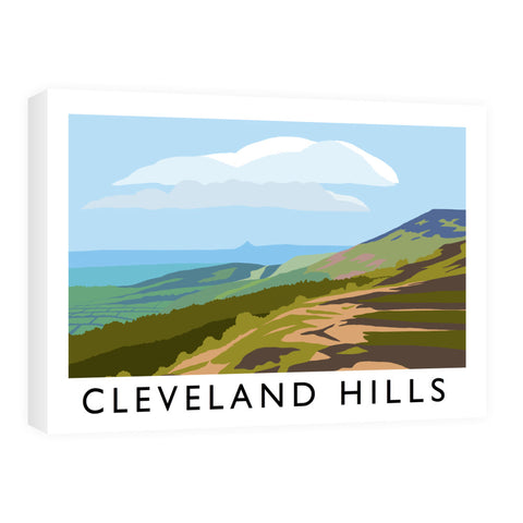 The Cleveland Hills, Yorkshire Canvas