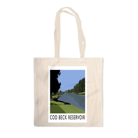 Cod Beck Reservoir, Yorkshire Canvas Tote Bag