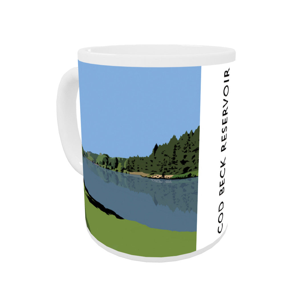 Cod Beck Reservoir, Yorkshire Mug