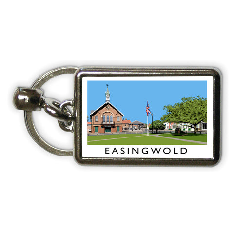 Easingwold, Yorkshire Metal Keyring