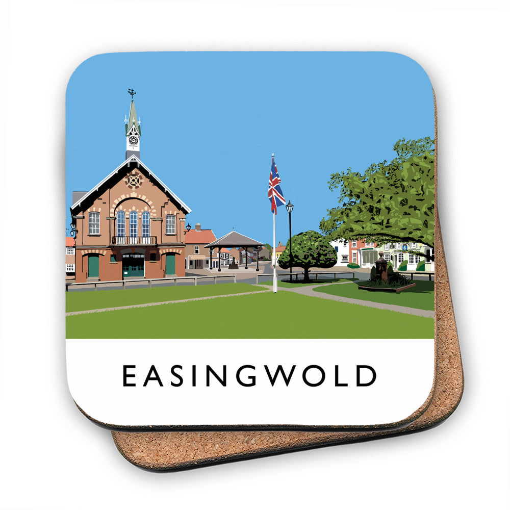 Easingwold, Yorkshire MDF Coaster