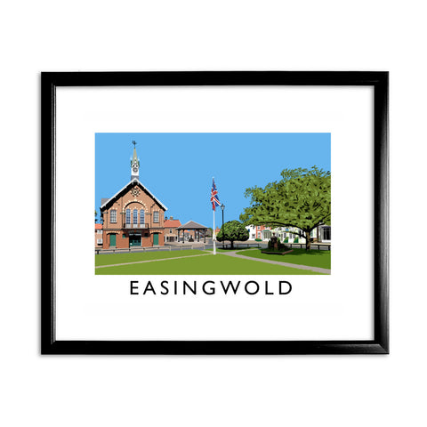 Easingwold, Yorkshire 11x14 Framed Print (Black)