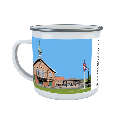 Easingwold, Yorkshire Enamel Mug