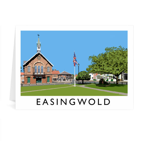 Easingwold, Yorkshire Greeting Card 7x5