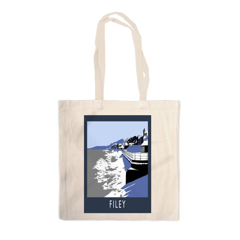 Filey, Yorkshire Canvas Tote Bag