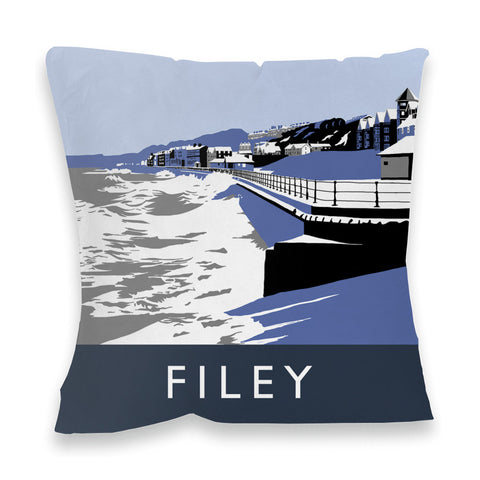 Filey, Yorkshire Fibre Filled Cushion