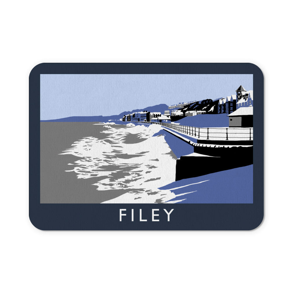 Filey, Yorkshire Mouse Mat