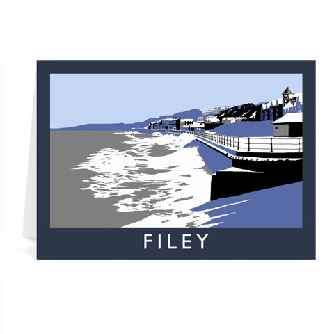 Filey, Yorkshire Greeting Card 7x5