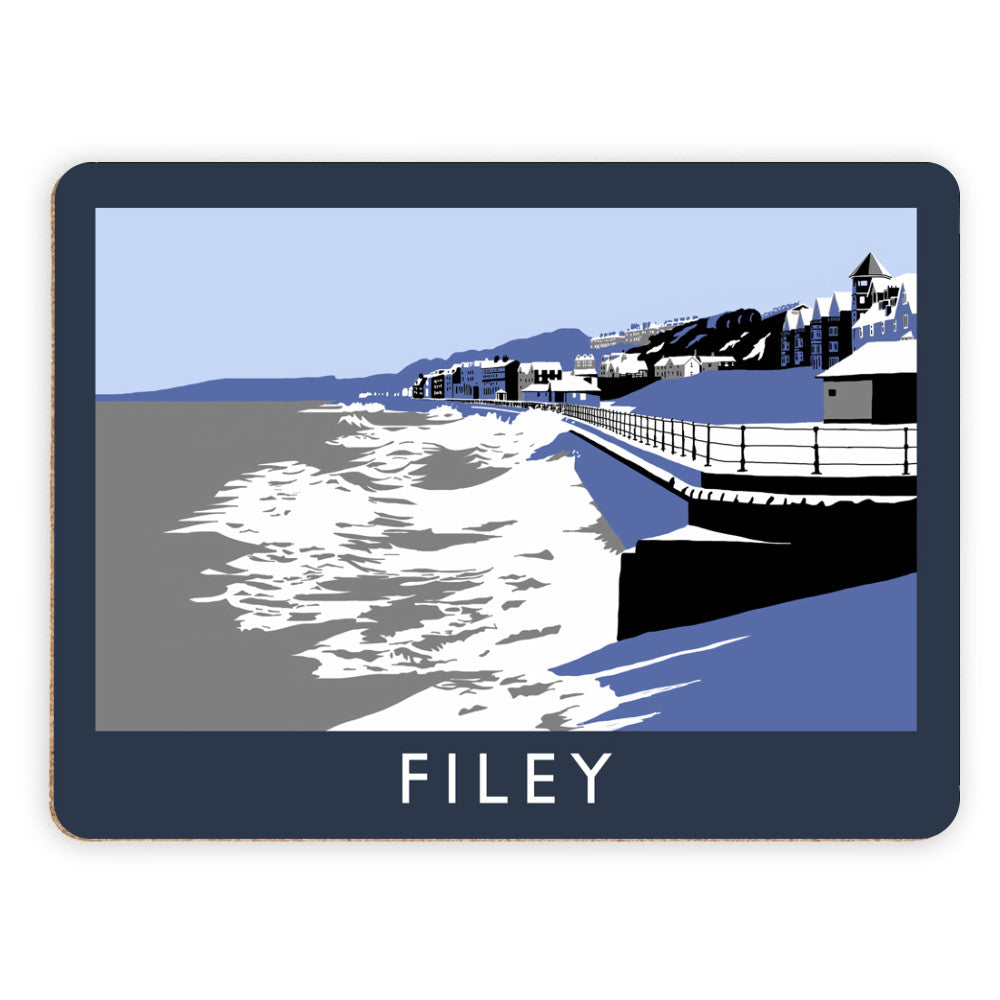 Filey, Yorkshire Placemat