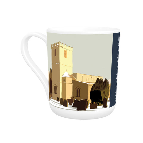Gilling West, Yorkshire Bone China Mug