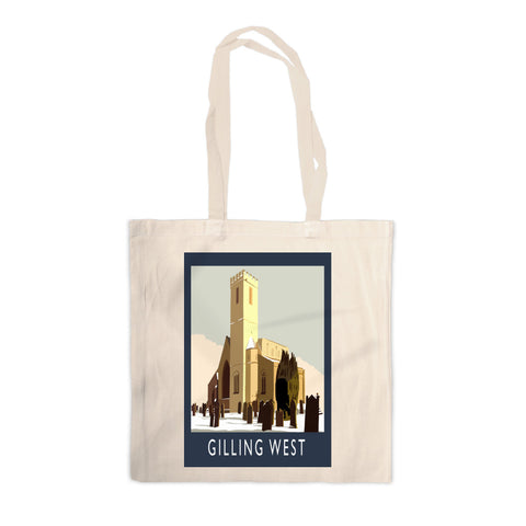 Gilling West, Yorkshire Canvas Tote Bag