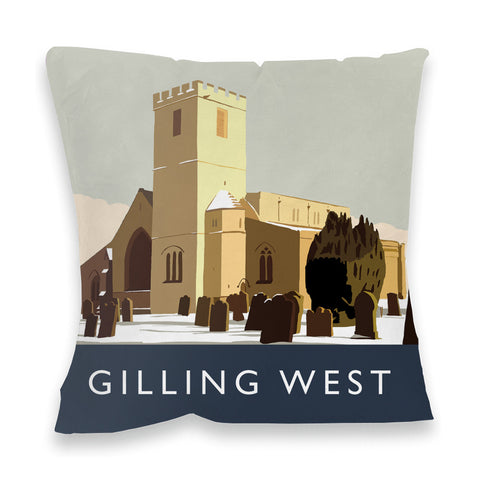 Gilling West, Yorkshire Fibre Filled Cushion