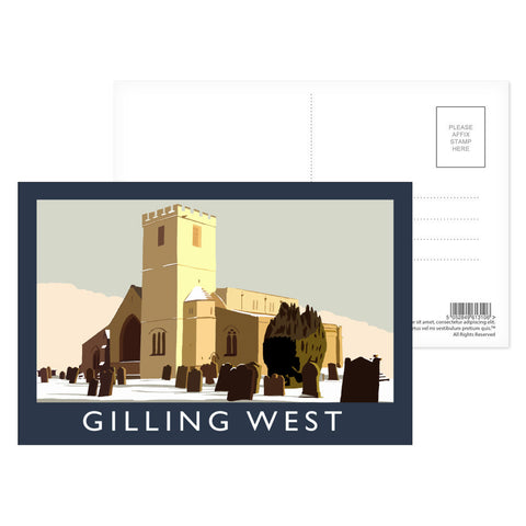 Gilling West, Yorkshire Postcard Pack