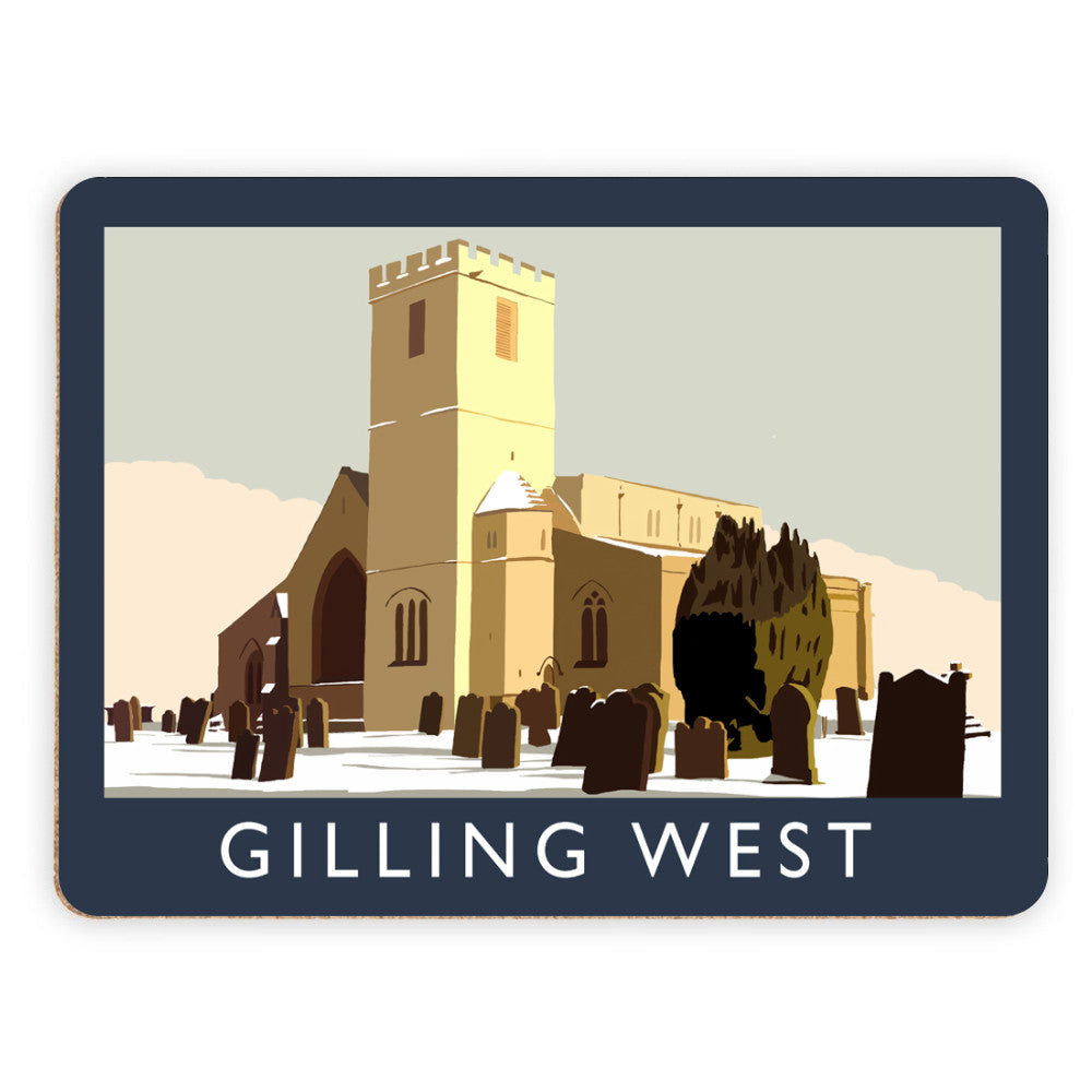 Gilling West, Yorkshire Placemat
