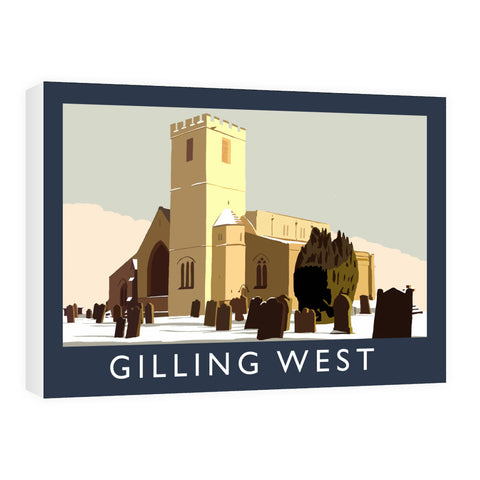 Gilling West, Yorkshire Canvas