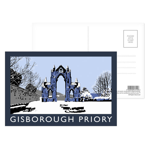 Gisborough Priory, Yorkshire Postcard Pack