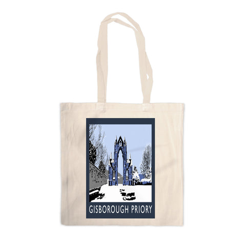 Gisborough Priory, Yorkshire Canvas Tote Bag