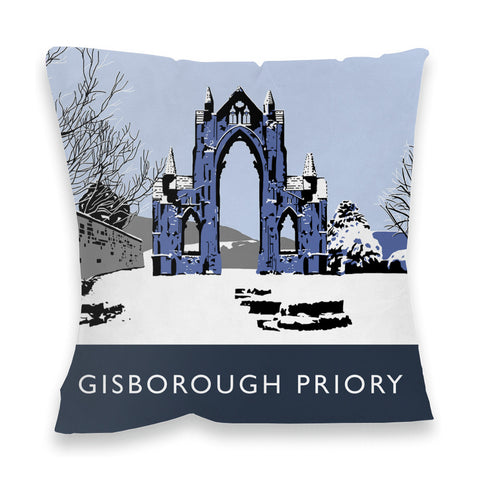 Gisborough Priory, Yorkshire Fibre Filled Cushion