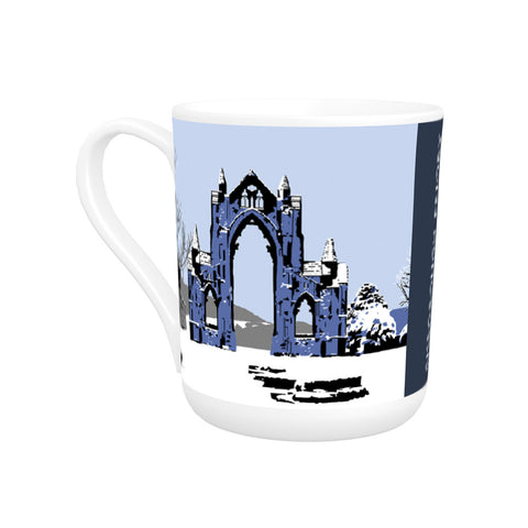 Gisborough Priory, Yorkshire Bone China Mug