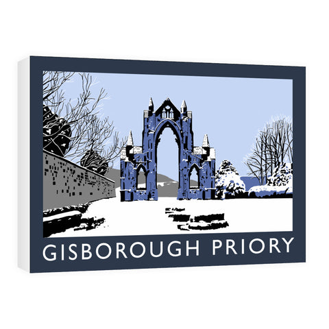 Gisborough Priory, Yorkshire Canvas