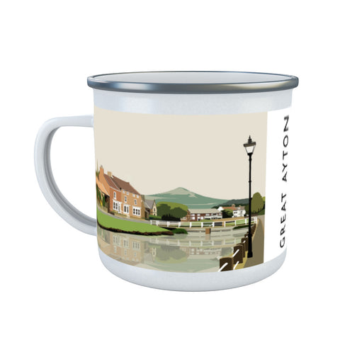 Great Ayton, Yorkshire Enamel Mug