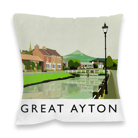 Great Ayton, Yorkshire Fibre Filled Cushion