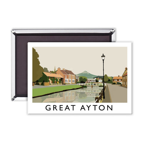 Great Ayton, Yorkshire Magnet