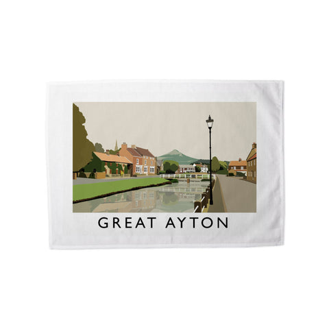 Great Ayton, Yorkshire Tea Towel