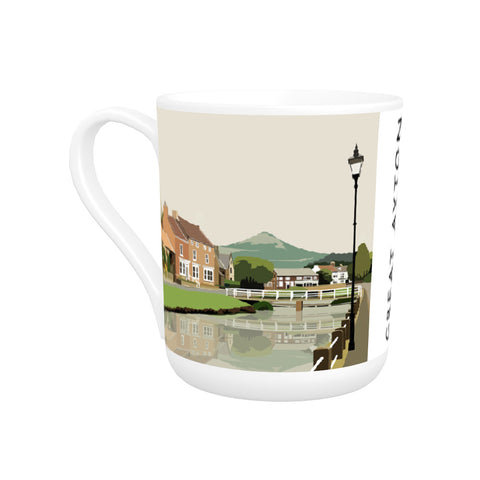 Great Ayton, Yorkshire Bone China Mug