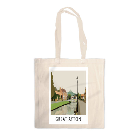Great Ayton, Yorkshire Canvas Tote Bag