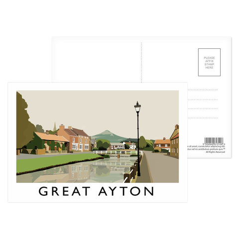 Great Ayton, Yorkshire Postcard Pack
