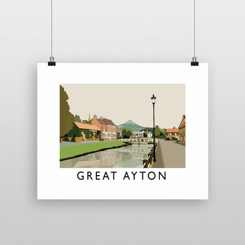 Great Ayton, Yorkshire Fine Art Print