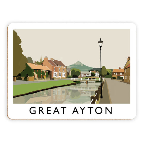 Great Ayton, Yorkshire Placemat
