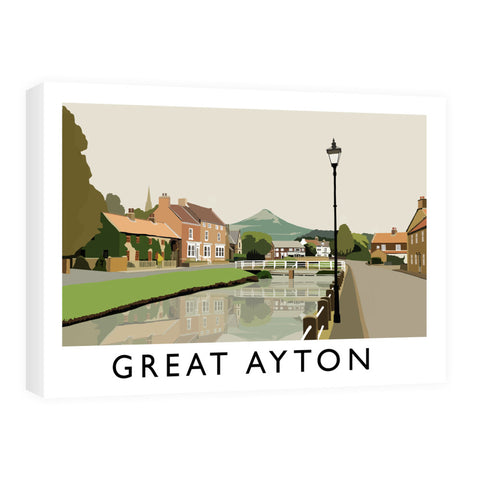 Great Ayton, Yorkshire Canvas