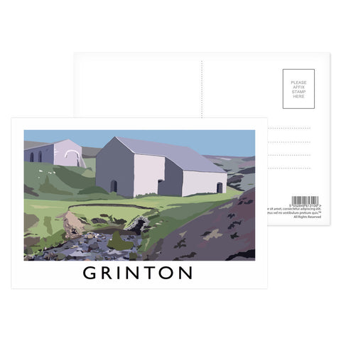 Grinton, Yorkshire Postcard Pack