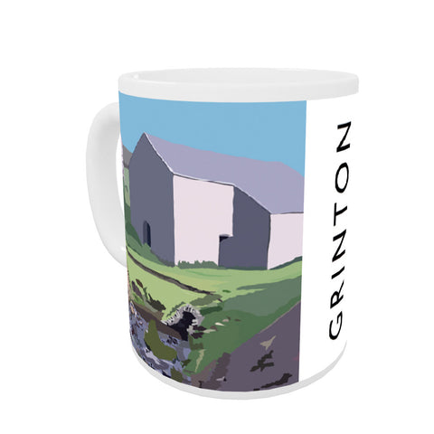 Grinton, Yorkshire Coloured Insert Mug