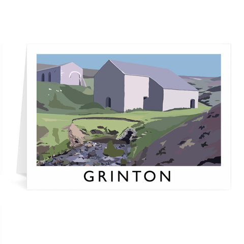 Grinton, Yorkshire Greeting Card 7x5