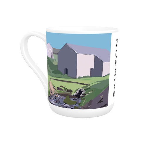 Grinton, Yorkshire Bone China Mug