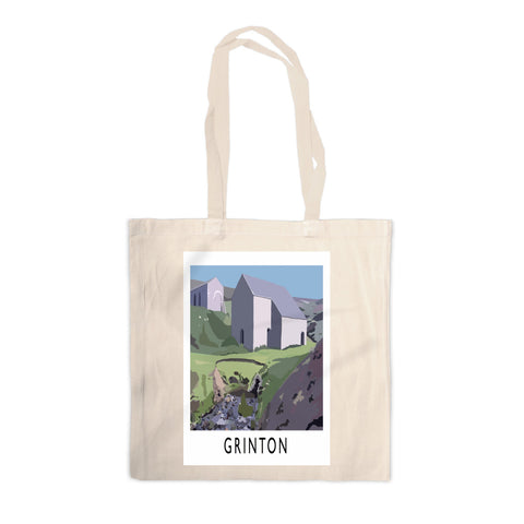 Grinton, Yorkshire Canvas Tote Bag