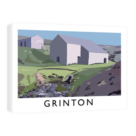 Grinton, Yorkshire Canvas