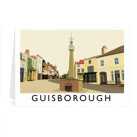 Guisborough, Yorkshire Greeting Card 7x5
