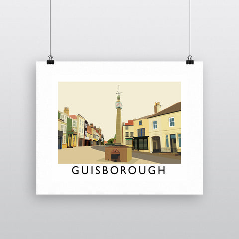 Guisborough, Yorkshire Fine Art Print
