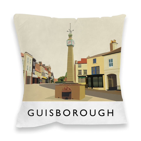 Guisborough, Yorkshire Fibre Filled Cushion