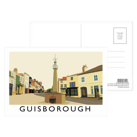 Guisborough, Yorkshire Postcard Pack