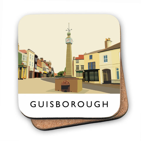 Guisborough, Yorkshire MDF Coaster