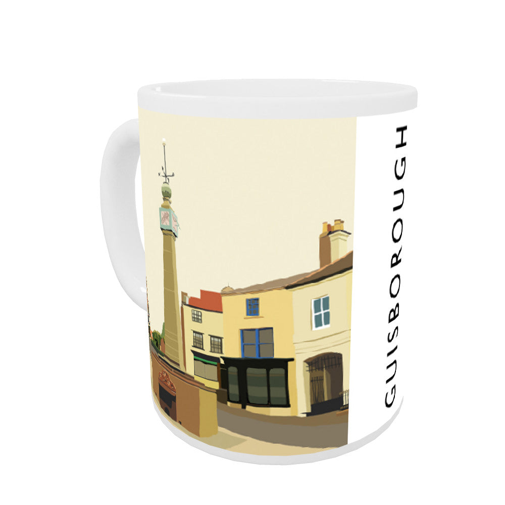 Guisborough, Yorkshire Coloured Insert Mug