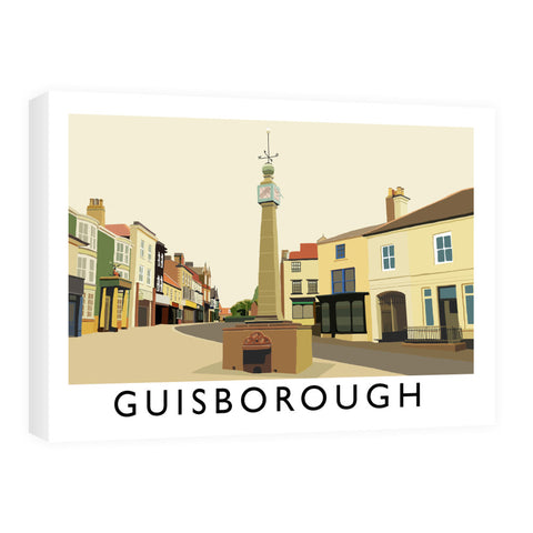 Guisborough, Yorkshire Canvas